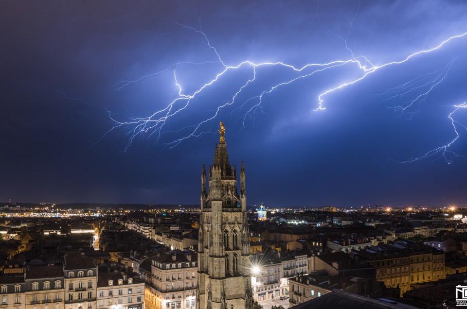 Bordeaux sous l'orage – 18 07 2017