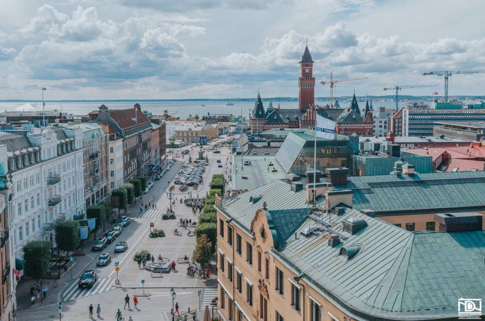 Helsingborg et Malmö – Photos du tour d'Europe